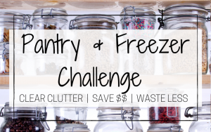 pantry challenge organize pantry to reduce food waste and save money