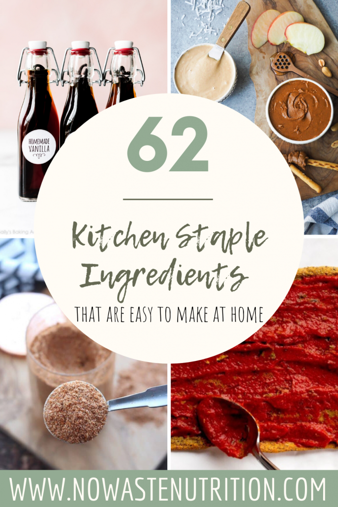 kitchen staples easy to make at home