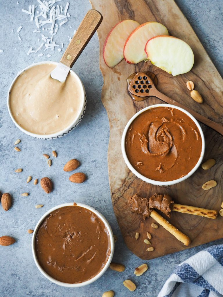 nut butters from scratch