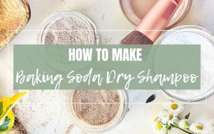 baking soda dry shampoo