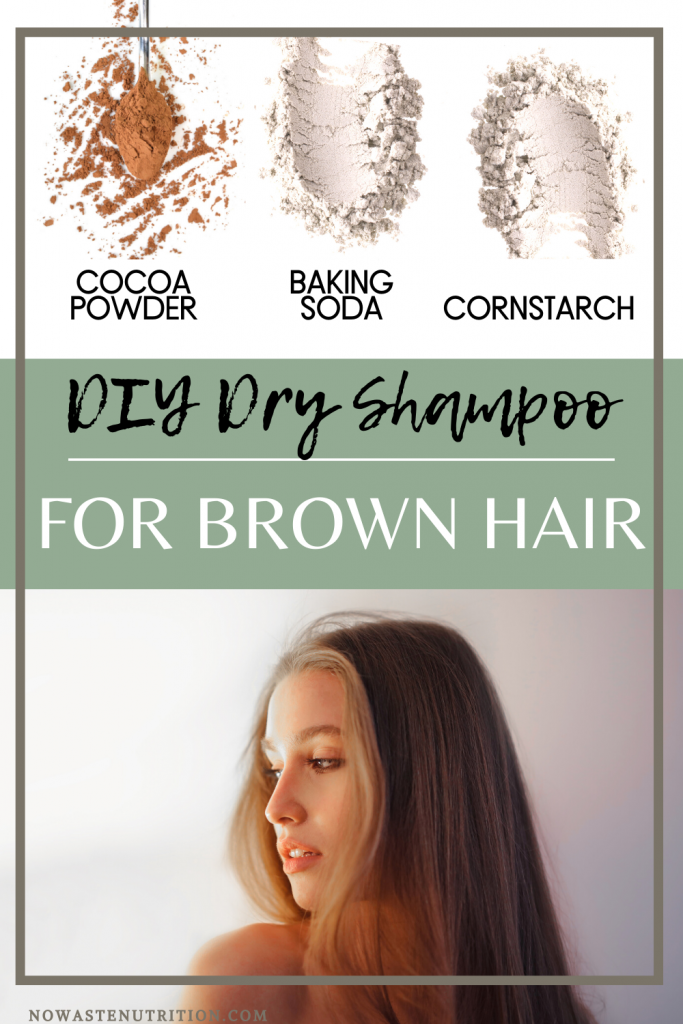dry shampoo recipe for brown hair