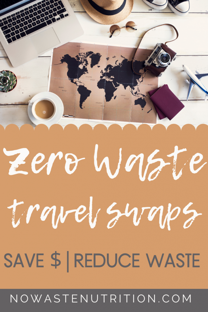 tips to reduce waste during travel
