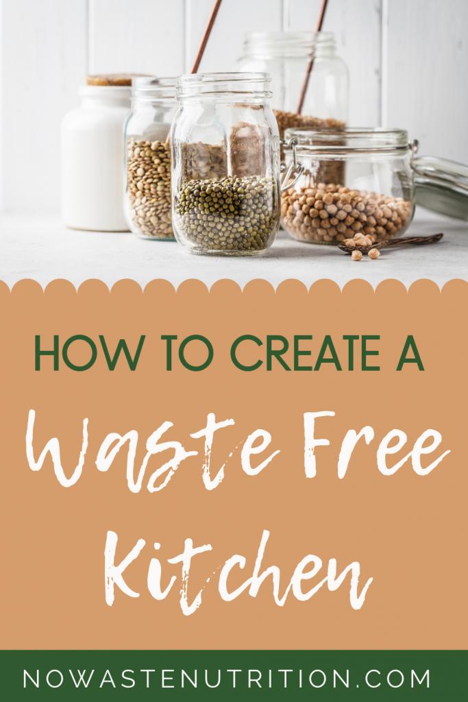 zero waste lifestyle tips for the kitchen