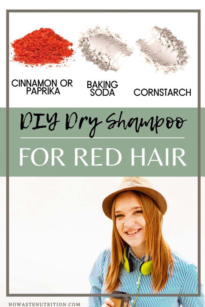 dry shampoo recipe for red hair