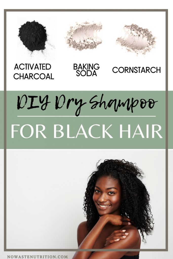 image for baking soda dry shampoo for black hair