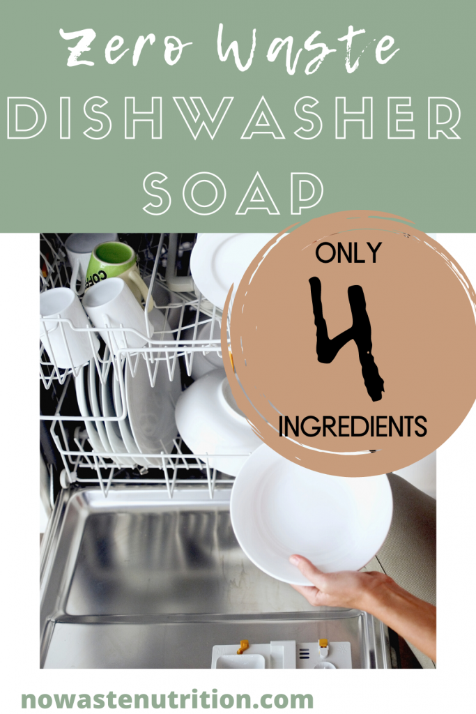 zero waste dishwasher soap