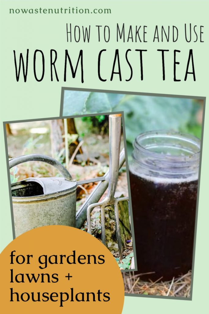 worm cast tea